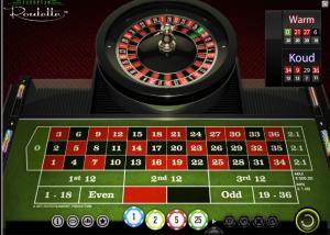 European roulette casino's