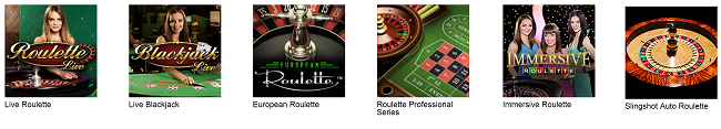 tablegames roulette