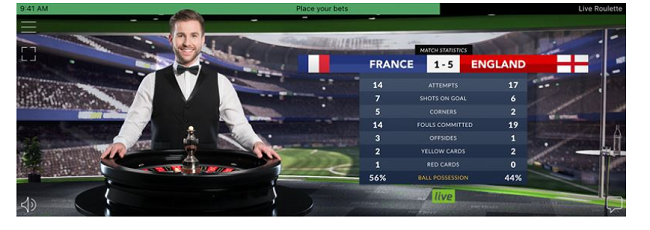 World cup live roulette new at Net Entertainment